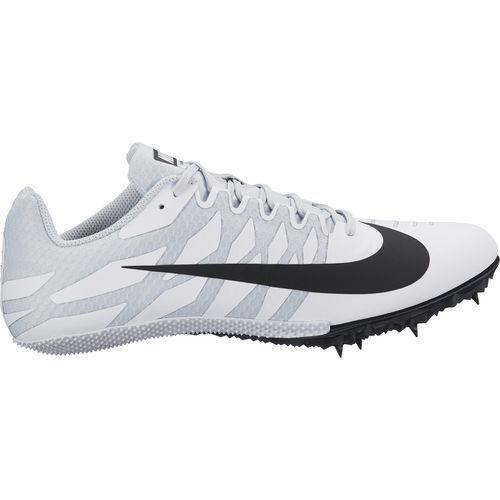 0180efa39a69 Nike Men s Zoom Rival S 9 Track Spikes (White Black