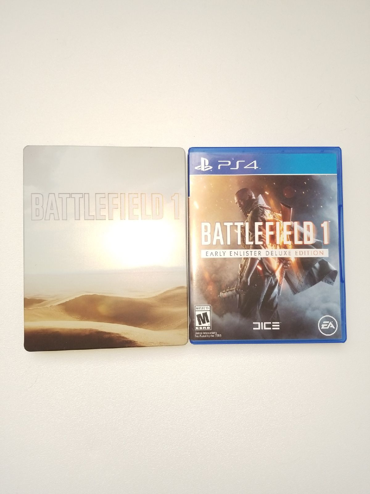 Battlefield 1 For Ps4 Includes Game Itself And A Steelbook No