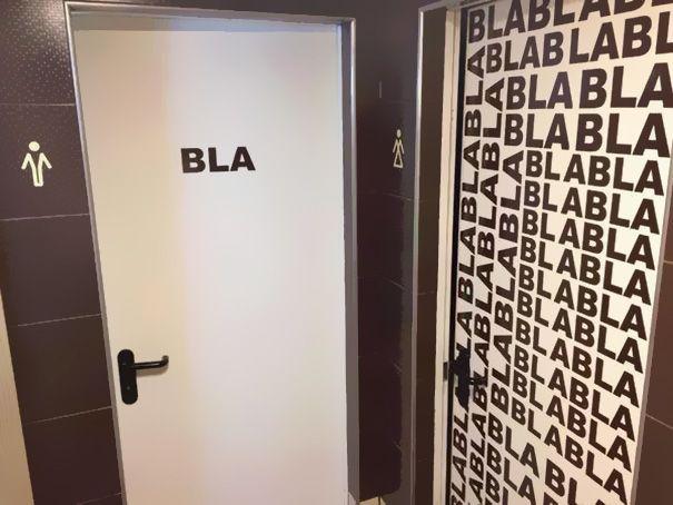 6d9c23ed2141 Los 22 letreros de baños mas creativos del mundo | Funny stuff ...
