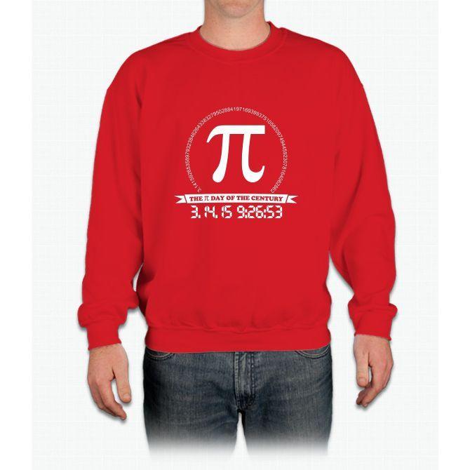 2015 Pi day of the century Crewneck Sweatshirt