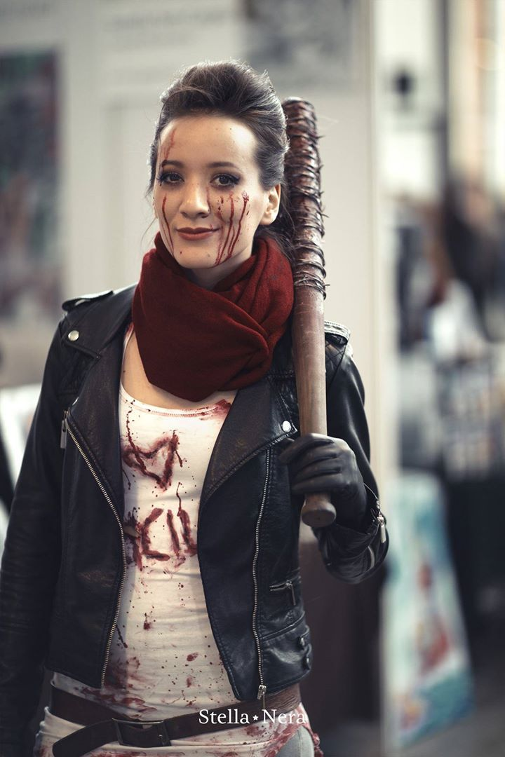 Female Negan from The Walking Dead Costumes and Cosplay - walking dead halloween costume ideas
