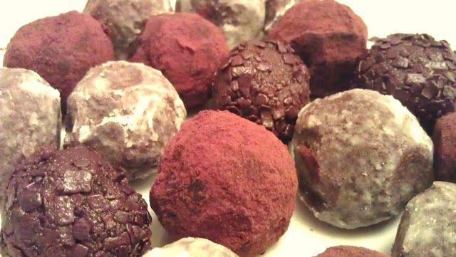 My Darlings And Me: Bailey's Chocolate Truffles