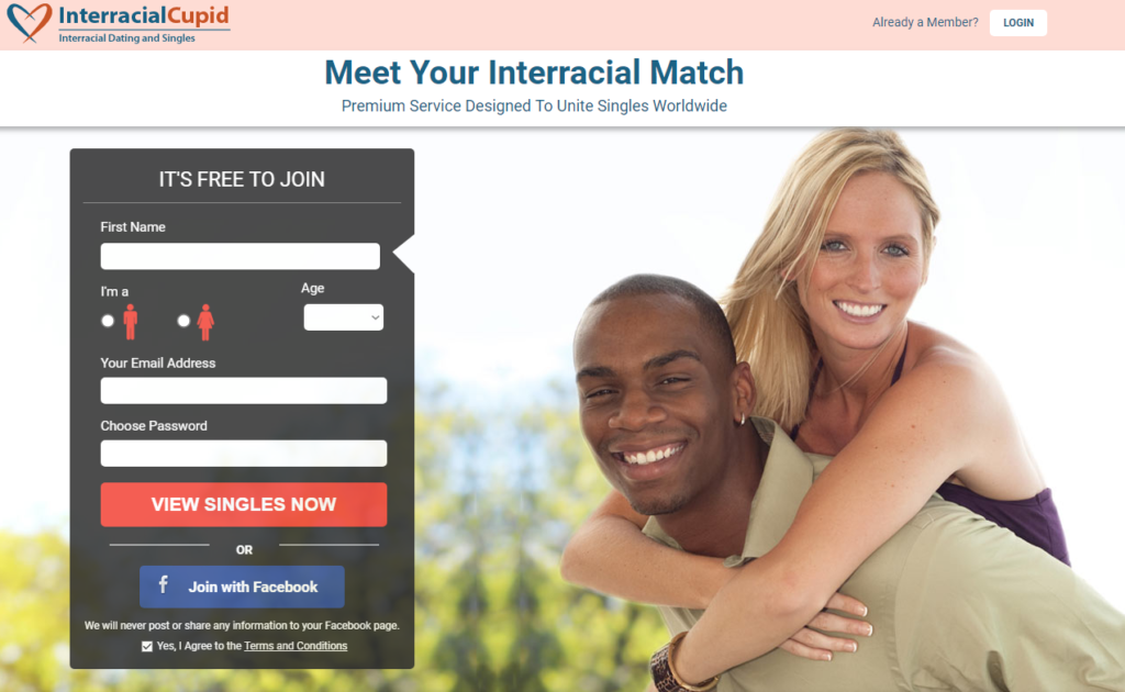 Interracial match dating