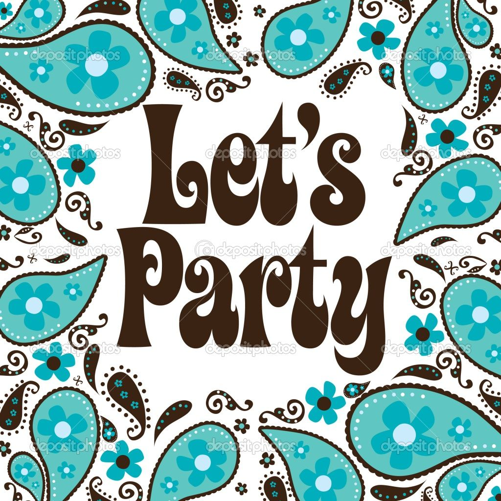 Seventies | Seventies Style Party Invitation | Stock Vector ...