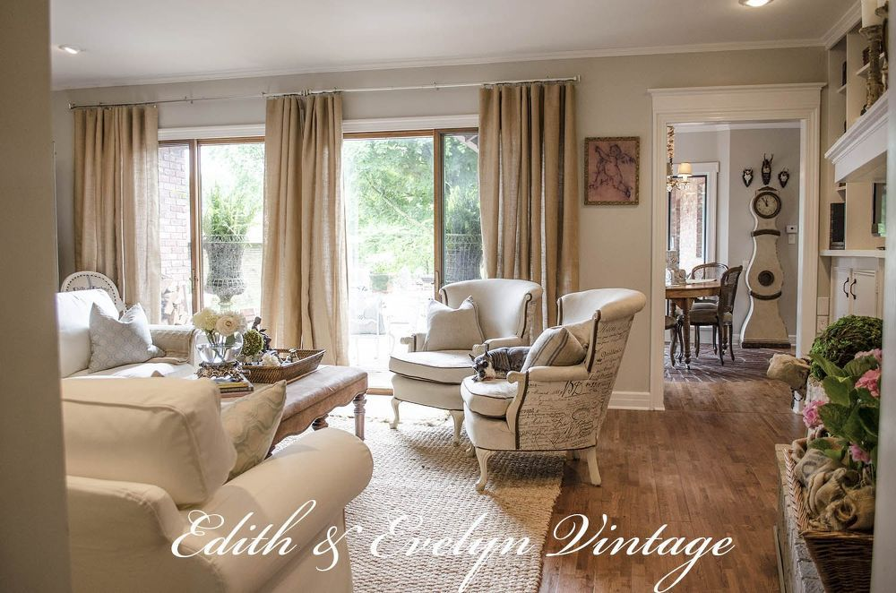 Transforming A Family Room In A Vintage French Country