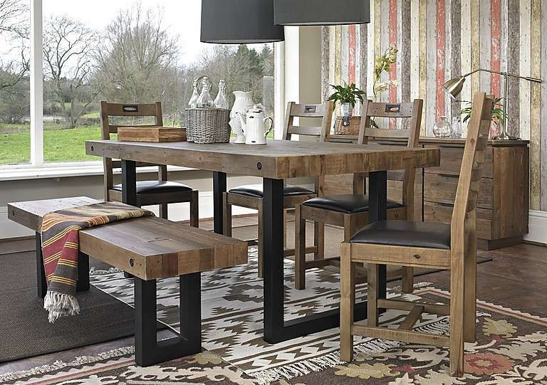 Hoxton Dining Table With 4 Chairs Dining Pinterest Dining