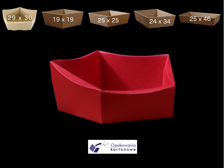 Red gift basket