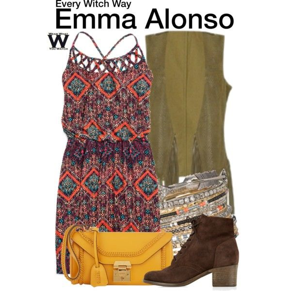 Inspired by Paola Andino as Emma Alonso on Every Witch Way.