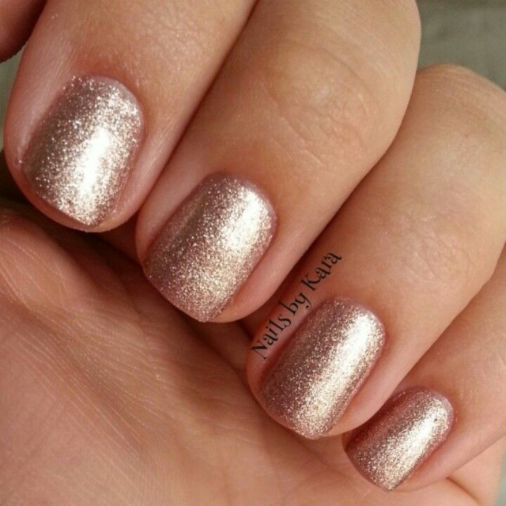 Metallic Nude Gel Polish OPI Gelshine For Sephora In Chestnuts About