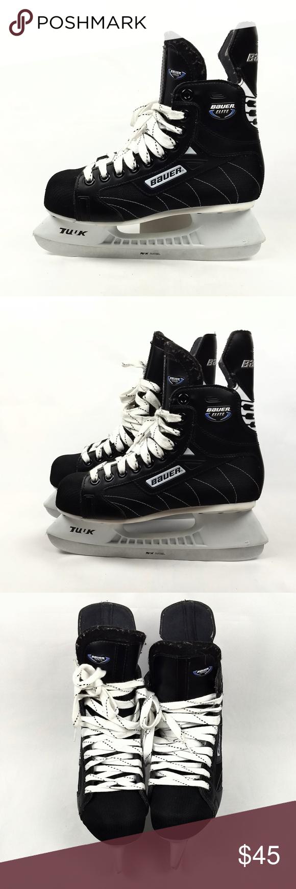 Bauer Skate Size To Shoe Size.Bauer Elite Ice Hockey Skate Mens Size 6 Eur 38 5 Bauer