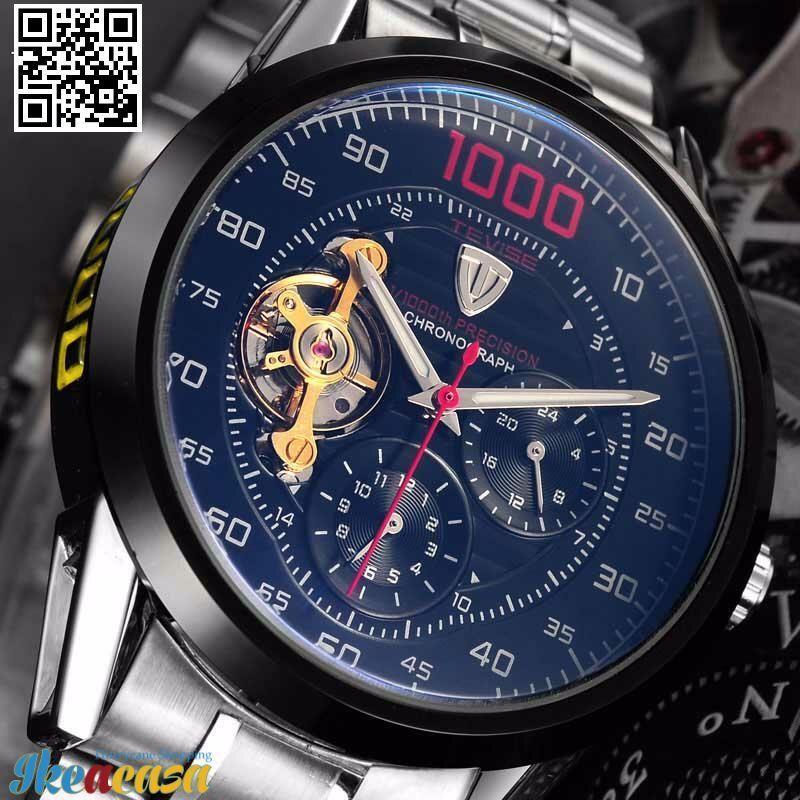 762fbca80f1 Ikeacasa Montre Orologio Uhr часы Reloj Business Waterproof Self-Wind Clock  Fashion Luxury Relogio Men s Watches Automatic Watch Mechanical Watches ...