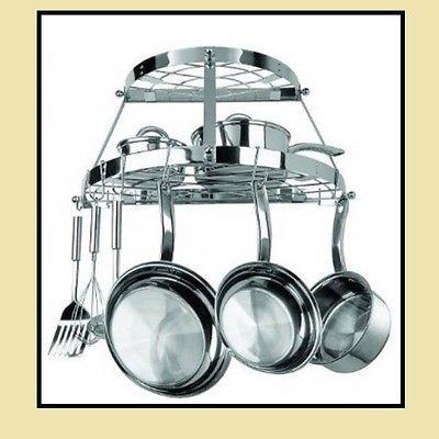 pot-and-pan-hanging-rack-organizer-ceiling-storage-kitchen-space-round