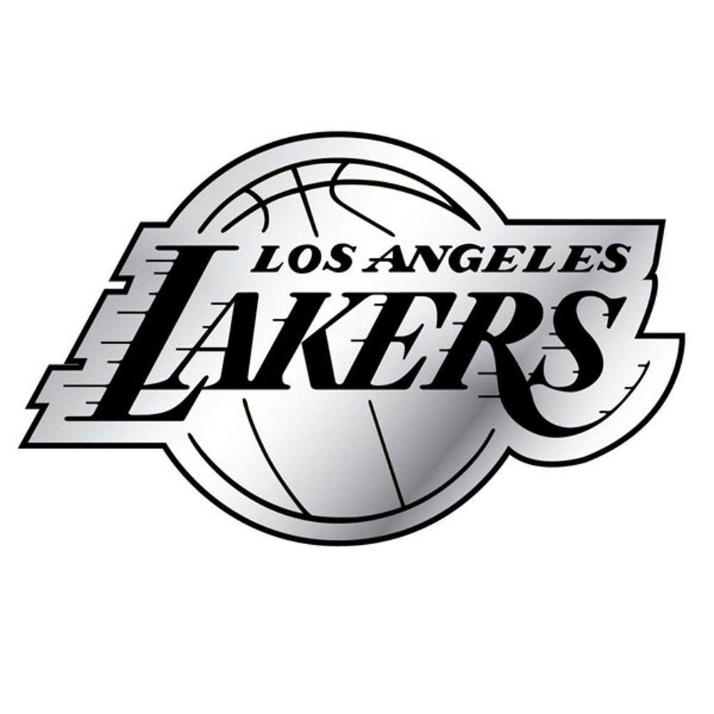 Los Angeles La Lakers Car Auto Emblem Decal Sticker Los Angeles Lakers Team Emblems Los Angeles [ 1000 x 1000 Pixel ]