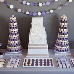 Monique Lhuillier Inspired Sweets