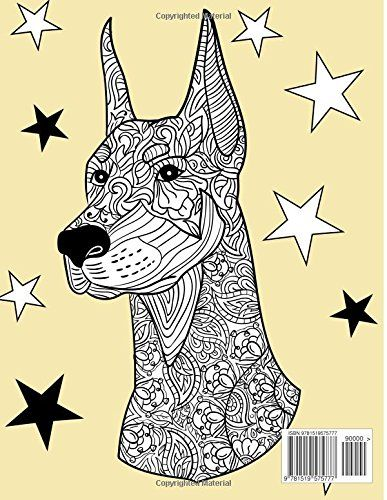 Dog Lover: Adult Coloring Book: Best Coloring Gifts for Mom, Dad ...