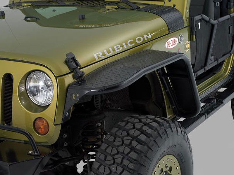 Fender Flares Warrior War 7311pc Warrior Products Front Tube Flares In Black Diamond Plate For 07 16 Jeep Wrangler Jeep Jeep Wrangler Jeep Wrangler Parts