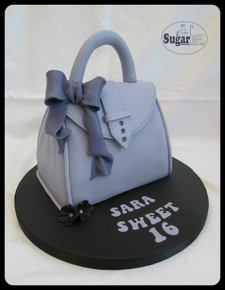 Handbag cake Novelty cake Cakes For All Occasions Pinterest