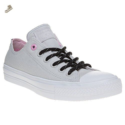 286d7ec8d4772 Converse Ctas Ii Ox Shield Womens Trainers Light Grey - 8 UK ...