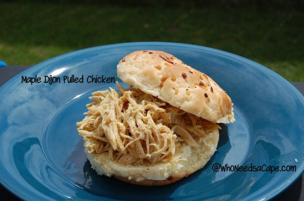 how to make pulled chicken in crock pot