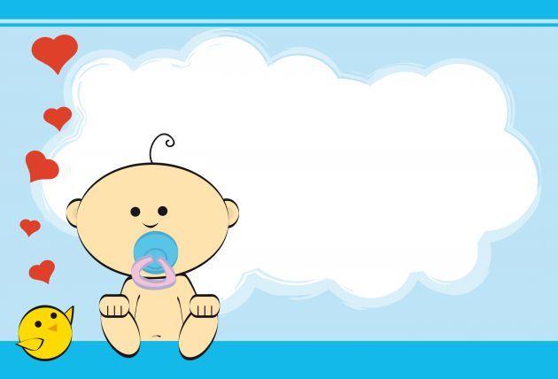 Formatos Para Imprimir De Invitaciones A Baby Shower