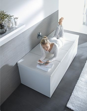 Duravit - Bathtub covers | Baffroom | Pinterest | Bathtub cover ...