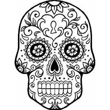 Scrolls For Skulls Skull Coloring Pages Coloring Pages