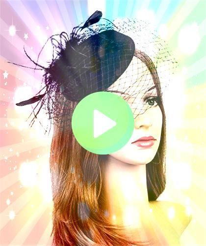 Hats 20s 50s Hat Pillbox Hat Cocktail Tea Party Headwear with Veil for Girls a wunderschöne Wolle mit Tüll Hochzeit  Party  Flitterwochen Hut  EUR  2499 Stunnin...