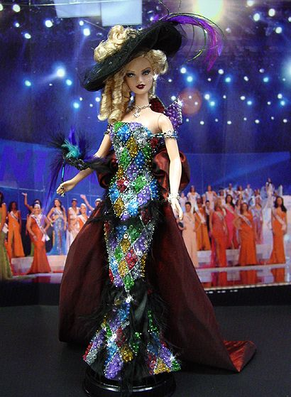 OOAK Barbie NiniMomo's Miss New Orleans 2011