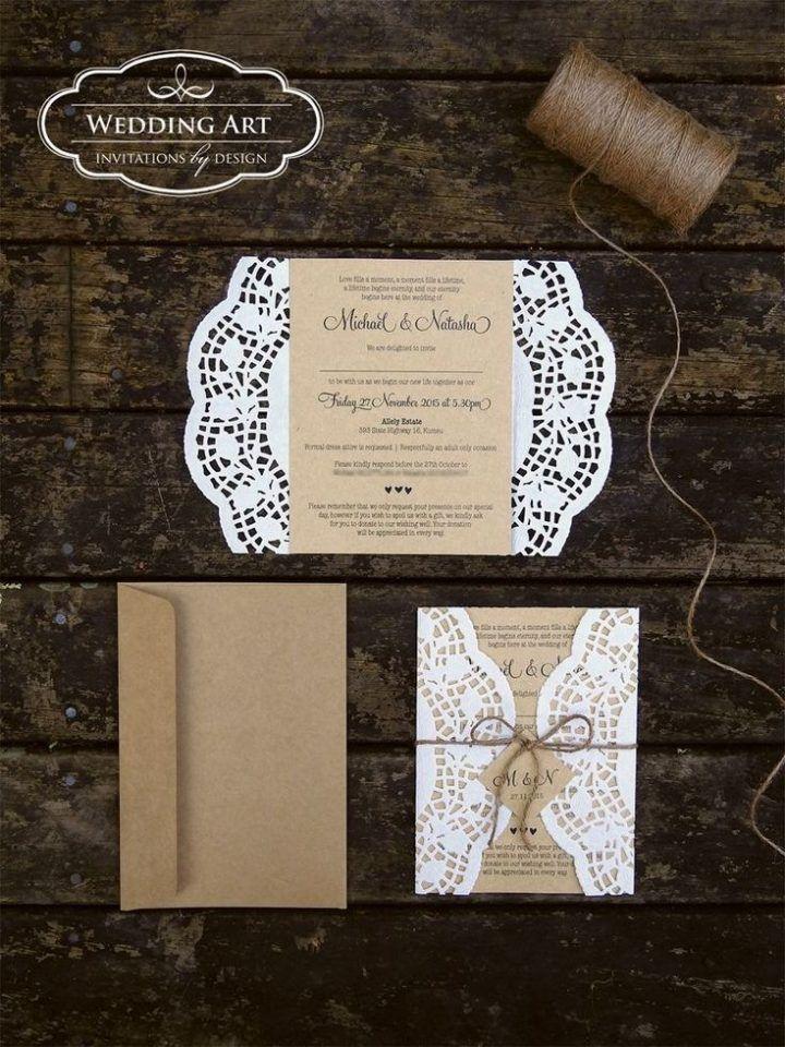 26+ Foto von günstigen Hochzeitseinladungs