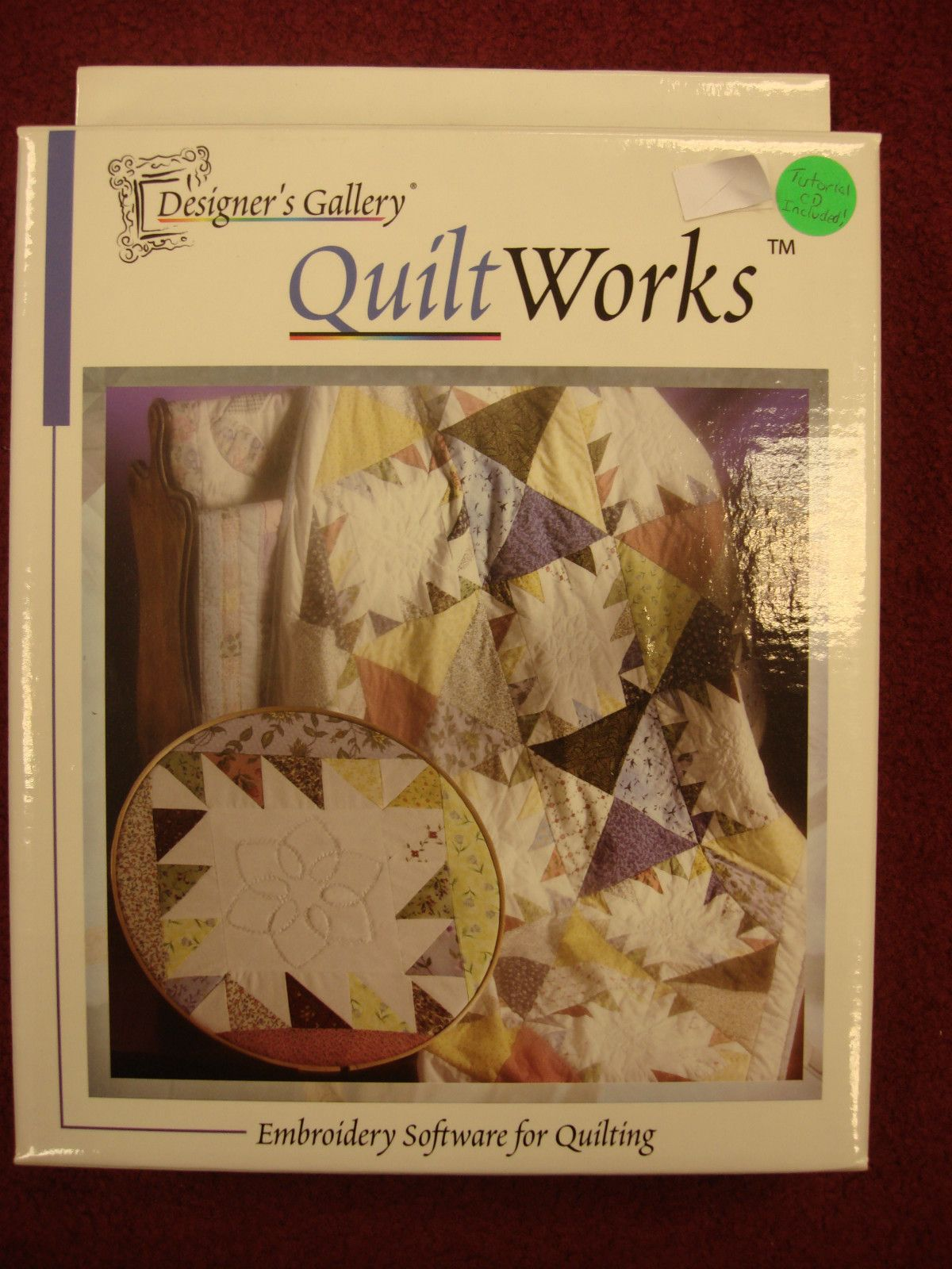 New Designer S Gallery Quilt Works Embroidery Digitizing Quilting Software Quilting Software Embroidery Software Quilts