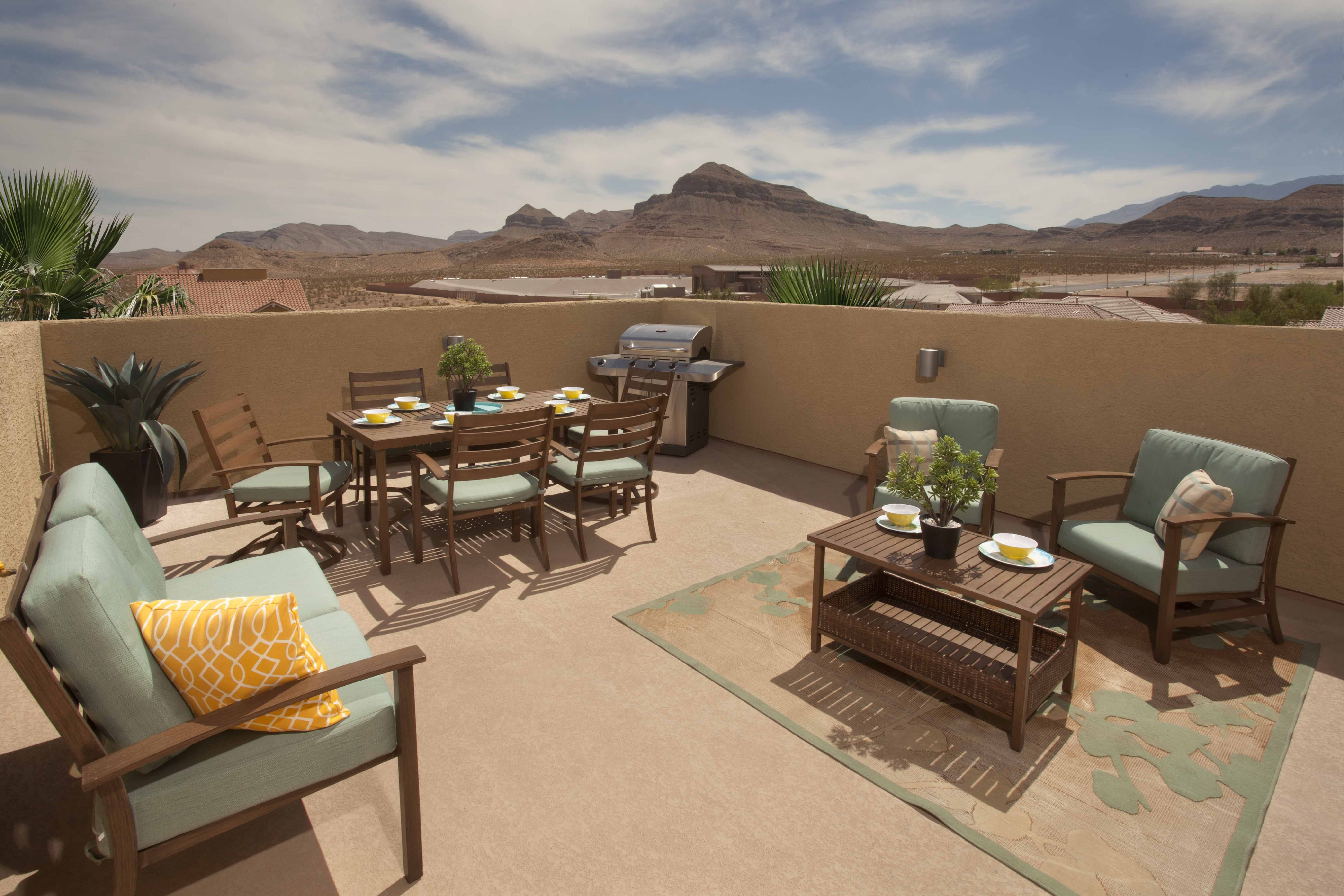 Ryland Signature Rooftop Deck At Evergreen By Ryland Homes