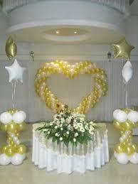 Resultado de imagen para decoracion con globos para matrimonio