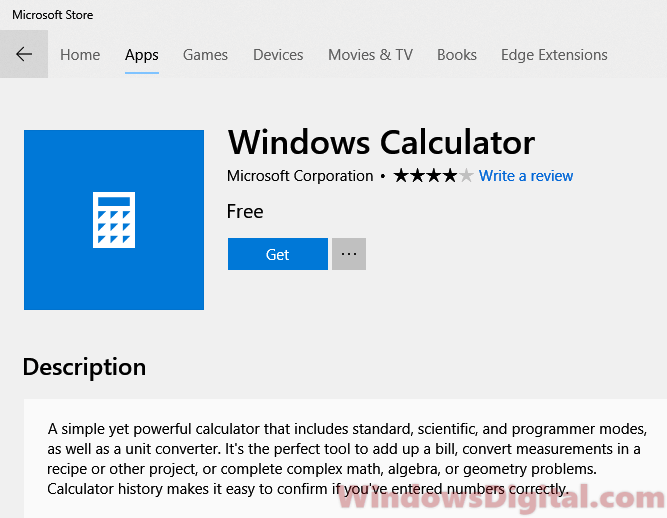 Windows 10 Calculator App Not Working or Missing (Fix