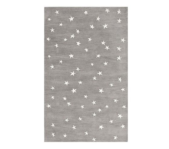 Starry Skies Rug In 2020 Linen Baby Bedding Hand Tufted