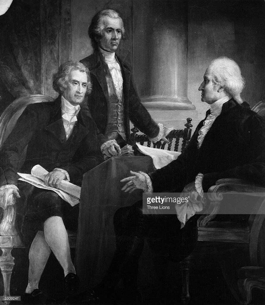 The 1st President Of The United States, George Washington (1732   1799) In