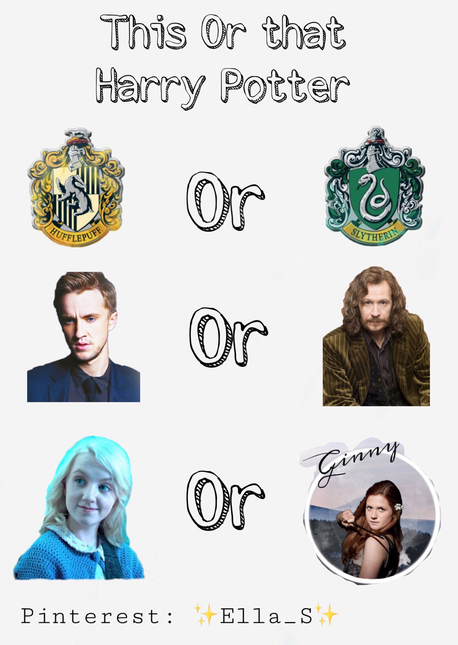 Made This Myself Follow Ella S Harrypotter Harrypotterquiz Mein Name