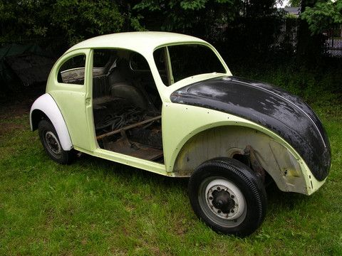 volkswagen vw  beetle chassis body service repair