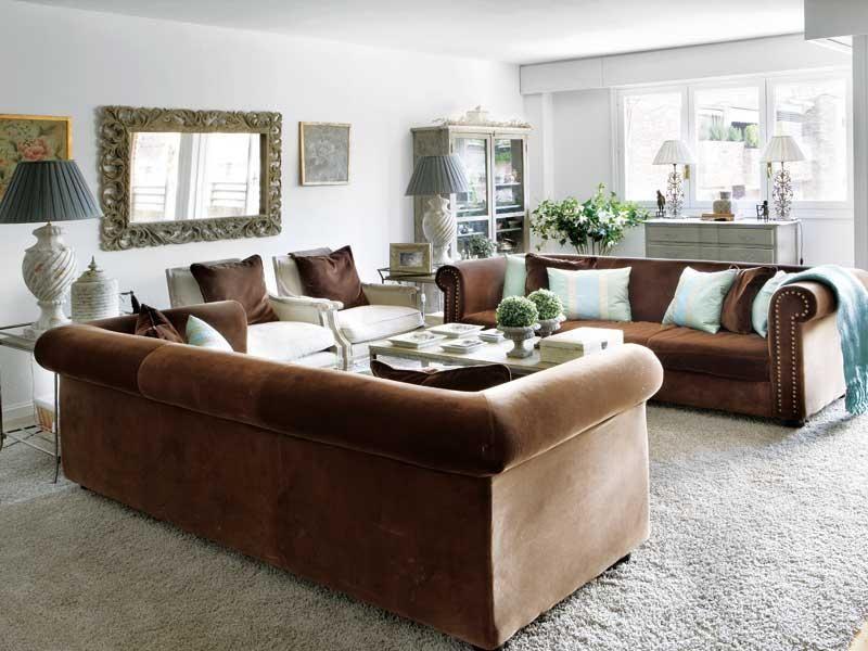 Resultado de imagen de salon clasico Salones Living Room