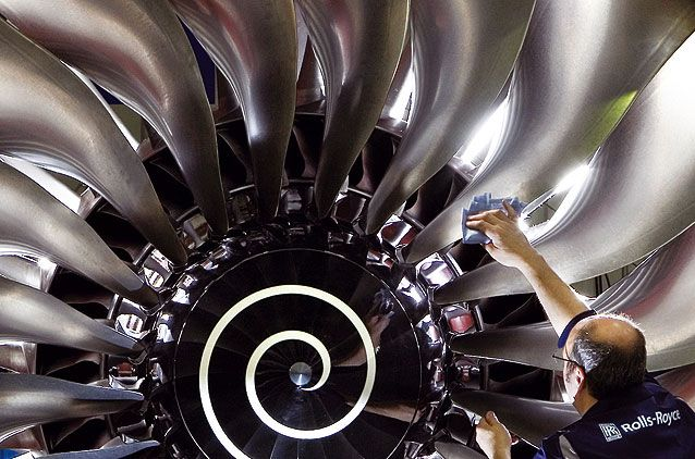 Still at the cutting edge of engineering, companies like Rolls Royce ...