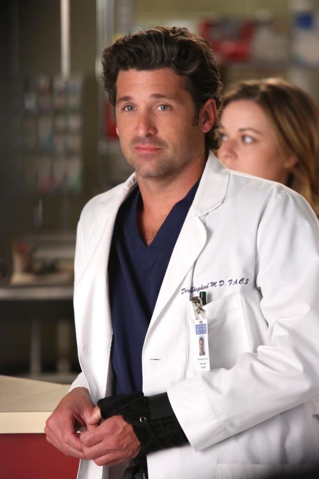 Dr. Derek Shepherd (Patrick Dempsey) | Grey\'s | Pinterest | Tatuaje ...