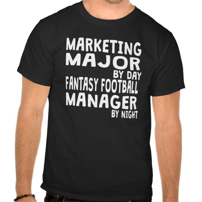 Marketing Major Fantasy Football T Shirt, Hoodie Sweatshirt