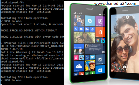 """How to Flash Nokia lumia phones with pc without Box """"Windows"""
