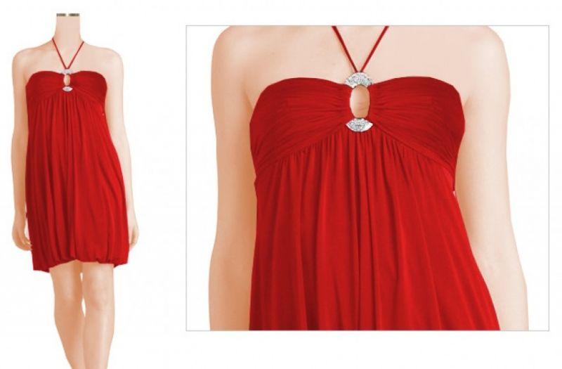 SALE Ballon #Cocktailkleid #Rot - My-Kleidung Onlineshop | Unbedingt ...