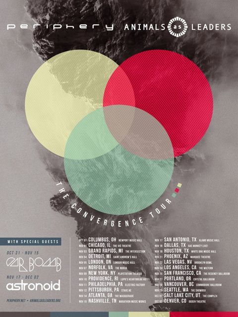 Periphery Animals As Leaders Tour 2017