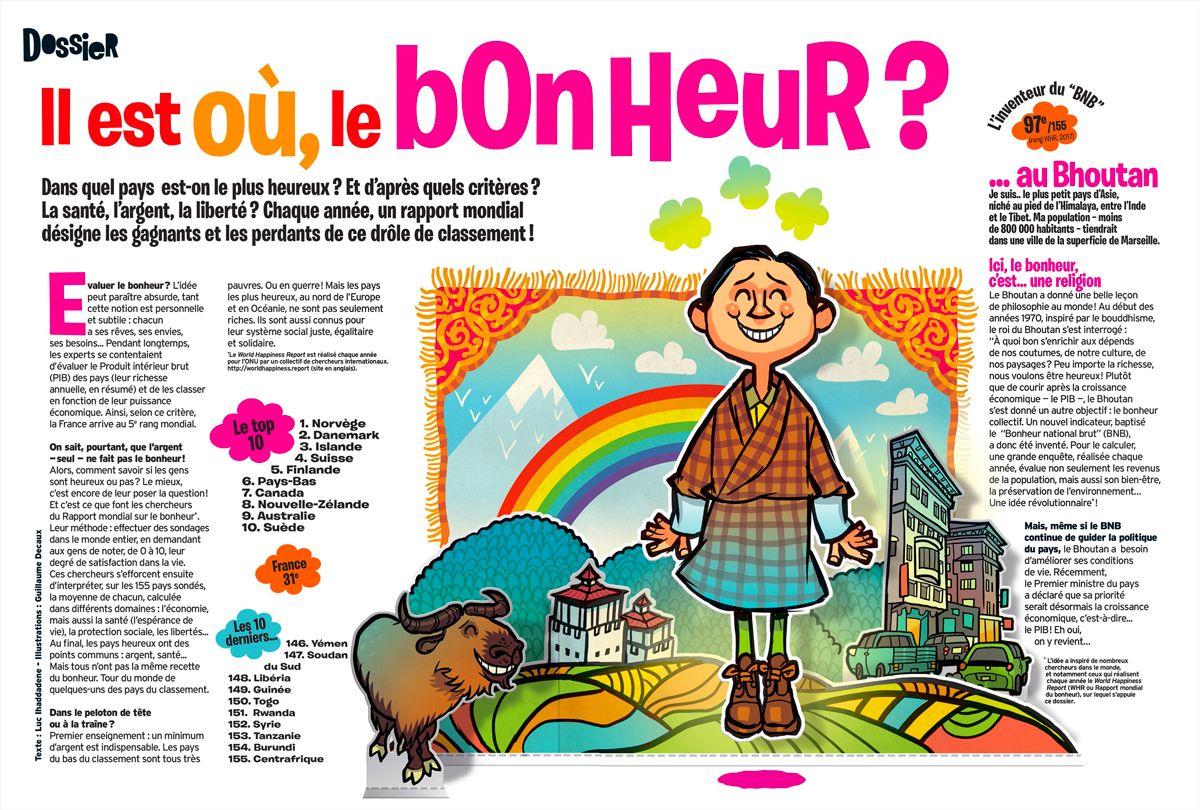 Telechargez Le Dossier Il Est Ou Le Bonheur Extrait Du Magazine Okapi Du 1er Juin 2017 Okapi Magazine Bonheur