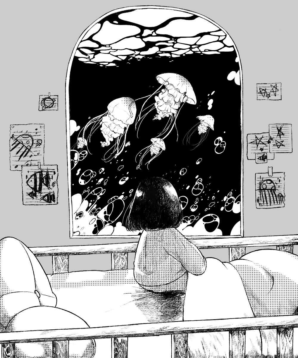 manga black and white bw Black and white artwork, Black