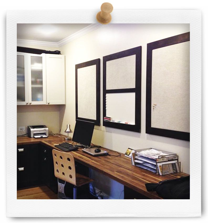 Here Is A Set Of Custom Bulletin Boards We Built For Customer Who Wanted Magnet Board And Dry Erase All On One Wall