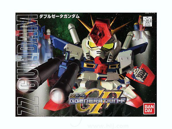 BB #212 SD ZZ Gundam by  Bandai