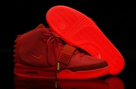 Nike Air Yeezy 2 Kanye West Black October Red [airyeezy 0933