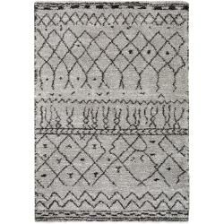 Photo of benuta high pile carpet Gobi gray 80×150 cm – Berber carpet benuta